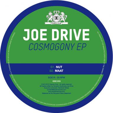 Joe Drive - Cosmogony EP