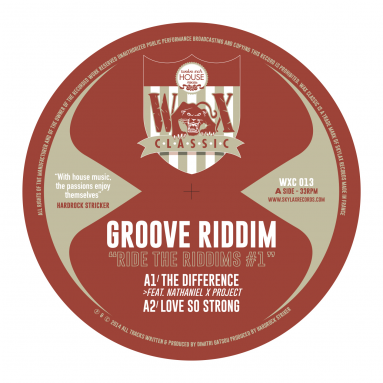 Groove Riddim - Ride The Riddims 1
