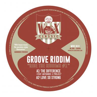 Groove Riddim - Ride The Riddims 1