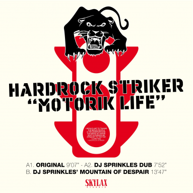 Hardrock Striker - Motorik Life (DJ Sprinkles remixes)