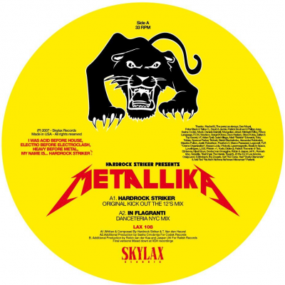 Hardrock Striker - Metallika (In Flagranti & David Gilmour girls feat. Young Marco remixes)
