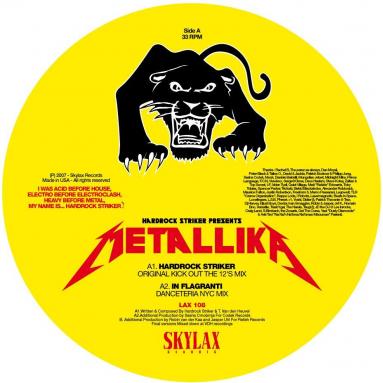 Hardrock Striker - Metallika (In Flagranti & David Gilmour girls feat. Young Marco remixes)