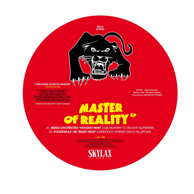 Biddu Orchestra & Fockewulf 190 - Master Of Reality (Hardrock Striker & L.S.B remixes)