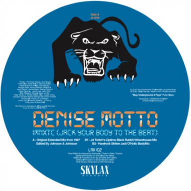 Denise Motto - I M N X T C (Jack Your Body To The Beat) (Optimo & Hardrock Striker)
