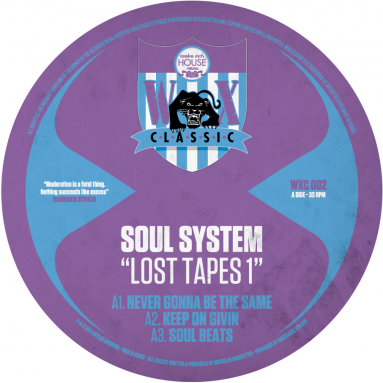 Soul System AKA Nicholas - Lost Tapes 1