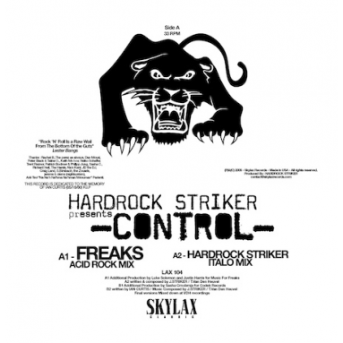 Hardrock Striker - Control (Freaks / In Flagranti remixes)