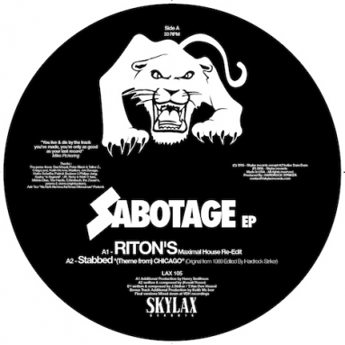 Stabbed, Denise Motto, Riton, Optimo, Hardrock Striker - Sabotage
