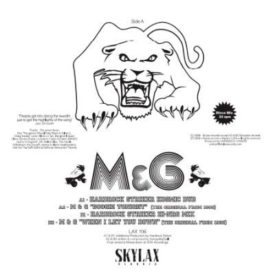 M & G - Boogie Tonight / When I Let You Down (Hardrock Striker mixes)