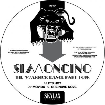 Simoncino - The Warrior Dance 4 (Virgo Four & Gene Hunt remixes)