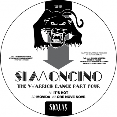 Simoncino - The Warrior Dance 4 (Virgo Four & Gene Hunt remixes)