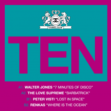 Cosmic Club 10 (Walter Jones, The love Supreme, Peter Visti, Renkas)