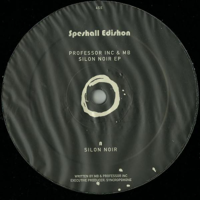 Professor Inc & MB - Silon Noir EP