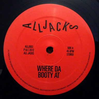 Paul Ritch - Where Da Booty At - Flash EP