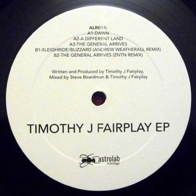 Timothy J Fairplay – Timothy J Fairplay EP