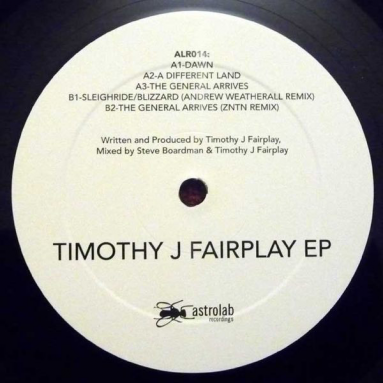 Timothy J Fairplay ‎– Timothy J Fairplay EP