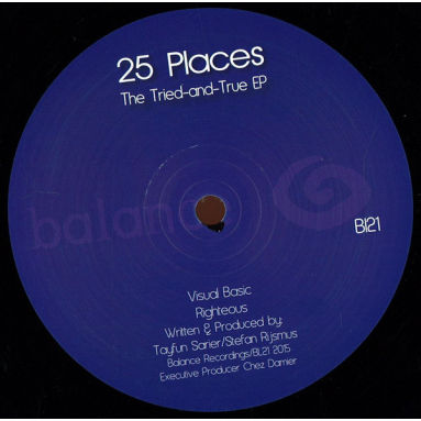 """25 Places """"Tried & True EP"""""""