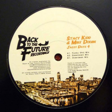 Stacy Kidd & Mike Dixon - Jazzy Dayz 4 EP