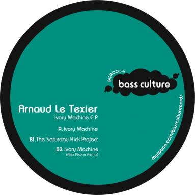 Arnaud Le Texier - Ivory Machine EP