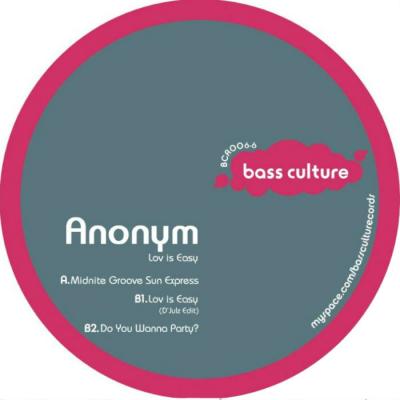 Anonym - Lov is Easy E.P