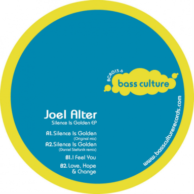 Joel Alter – Silence Is Golden EP Daniel Stefanik rmx