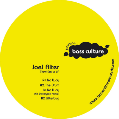 Joel Alter – Third Strike EP Ed (Daenport rmx)