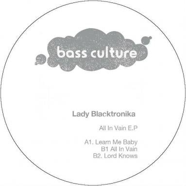 Lady Blacktronica - All In Vain EP