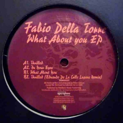 Fabio Della Store - What About You EP Eduardo de La Calle