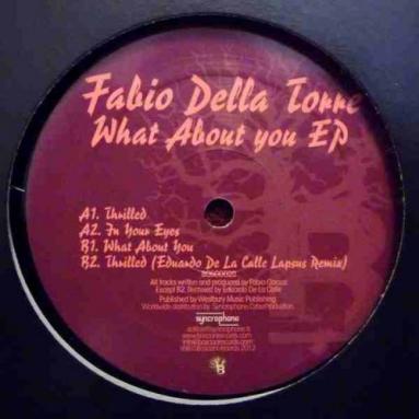 Fabio Della Store - What About You EP Eduardo de La Calle