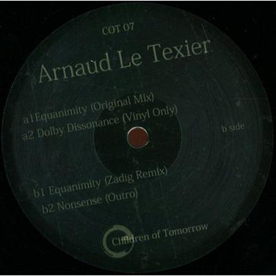Arnaud Le Texier - Equanimity EP (Zadig rmx)