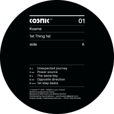 Kosme - 1st Thing 1st