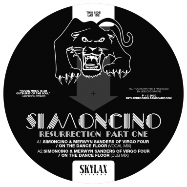 Simoncino - Resurrection Part One (Legowelt Remix) (Pre-order)