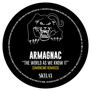 Armagnac - the world as we know it (Simoncino remixes) (Pre-Order)