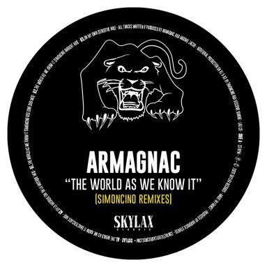 Armagnac - the world as we know it (Simoncino remixes) (Pre-Order)
