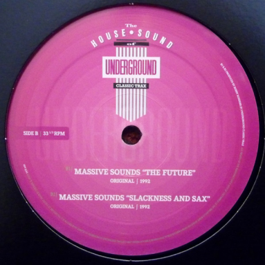 The House Sound Of Underground Classic Trax